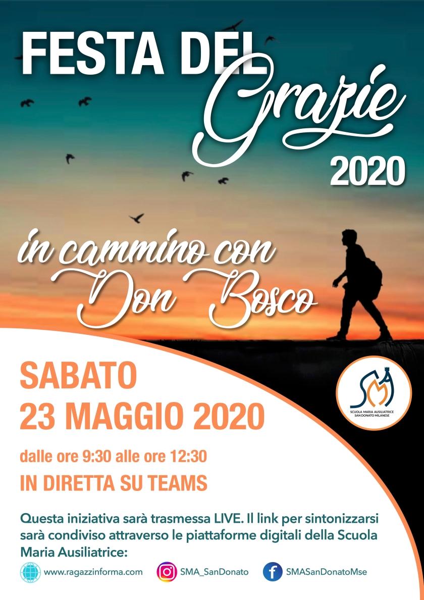 LOCANDINA FESTA DEL GRAZIE 2020